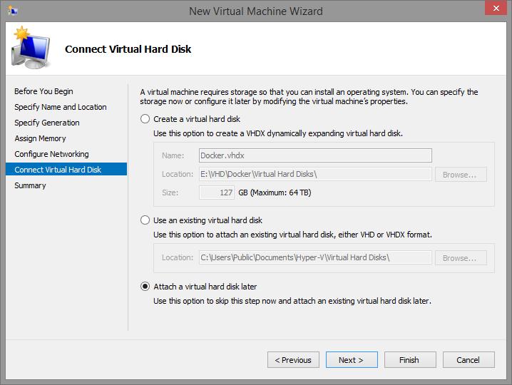 Getting Docker Running on Hyper-V 8 1/ 2012 R2